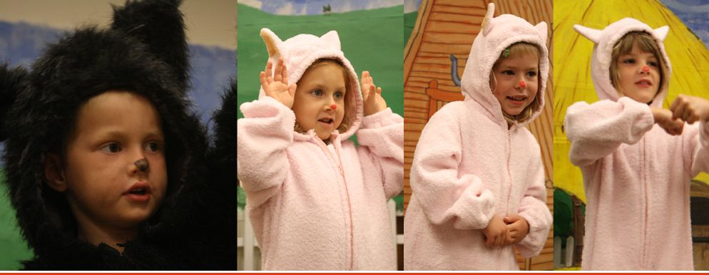 K4 Piggy Opera Just one of the exciting events in Geneva's early childhood program