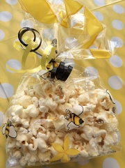 Pooh party bee popcorn bags